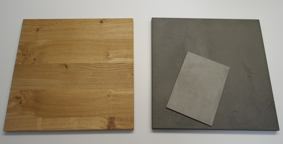 Neue Fronten von zeyko: Beton und Asteiche