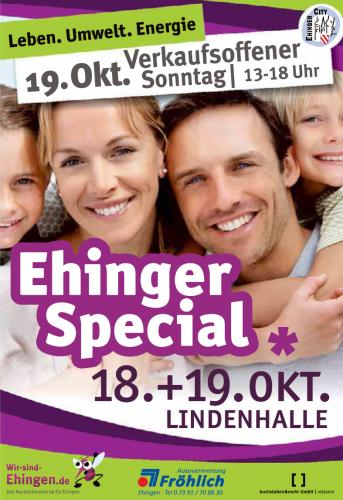Ehinger Special 2014. 18. + 19. Oktober